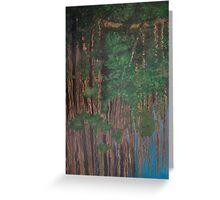 Banyan Tree by the Lake Greeting Card