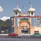 Luna Park - Melbourne by contourcreative