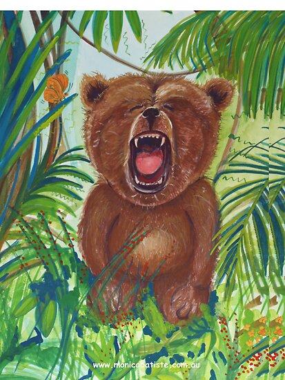 Roaring Teddy by Monica Batiste