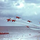 So Low - The Red Arrows, Broadstairs Kent -  1979 by Colin J Williams Photography