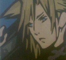 Cloud Strife by LightningArtt