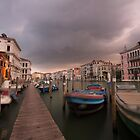 STORMY VENICE  by Anthony Milnes