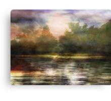 Along the Riverside Canvas Print