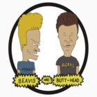 Beavis and Butthead by kalilak