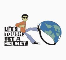Life's Tough. Get a Helmet. T-Shirt