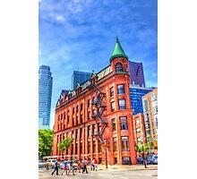 Walking to the Flatiron Building Photographic Print