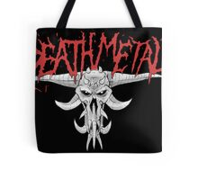 Death Metal Demonic-Skull Tote Bag