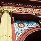 Masonic Column by WildestArt