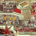 Arsenal History Collae iPhone Case by NiceGuyDesigns