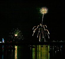Susquehanna 4th of July Spectacle by Gene Walls