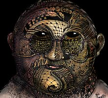 Huka man by Jenny Wood