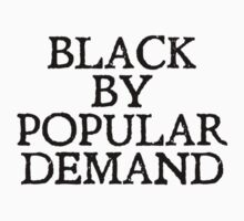 Black by popular demand Kids Clothes