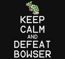 Keep Calm and Defeat Bowser by LagginPotato
