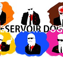 Reservoir Dogs-Print by Cookiecutter60