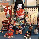 """Friendship Dolls"" Maritime Museum, Monterey, California by Gail Jones"