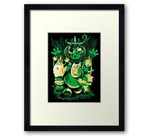 Return of the Lich Queen Framed Print