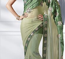 Indian bollywood saree by sareestudio