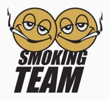 Smoking Team Smileys by Style-O-Mat