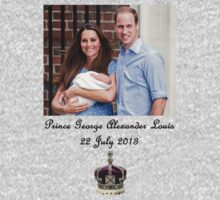 Announcing the Arrival of Prince George by Marjuned