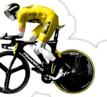 Chris Froome Tour de France 100th Winner 2013 Sticker