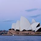 sydney opera house at down by milena boeva