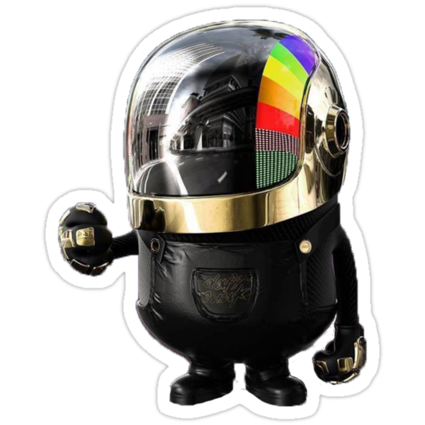 Daft Punk Minion by mnzero