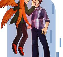 Supernatural-Gabriel and Sam prints by Cookiecutter60