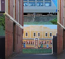 Canterbury Station by Milada Kessling