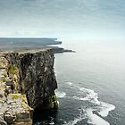 Cliffs at Dun Aengus, Inishmore by Simon Bowen