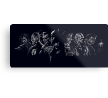 The Justice League Metal Print
