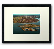 Lake Argyle Framed Print
