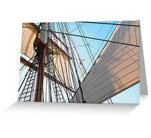 Barque At The Bay Greeting Card