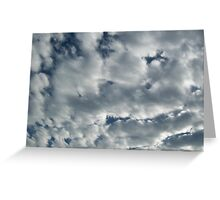 Look!  It's Clouds! Greeting Card