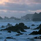 Approaching Twilight  - Oregon Coast by Harry Snowden