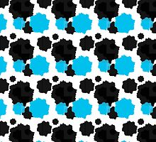 Cow Wall Paper Pattern by HeatherDay84