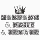 William Kate George by Zehda