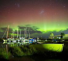 Aurora Australis at Franklin, Tasmania #13 by Chris Cobern