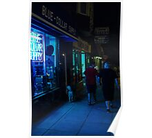 Blue Collar Nights Poster