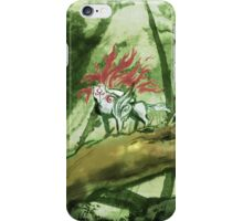 Okami Bamboo Forest iPhone Case/Skin