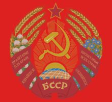 Socialist Byleorussian Emblem Kids Clothes