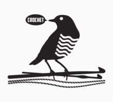 Talking bird crochet hooks yarn Kids Clothes