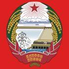 North Korea Emblem by charlieshim