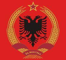 Socialist Albania Emblem Kids Clothes