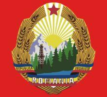 Socialist Romania Emblem Kids Clothes