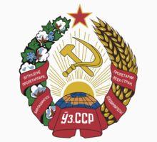 Socialist Uzbekistan Emblem Kids Clothes