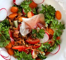 Lentil  Salad With Country Bacon II by SmoothBreeze7