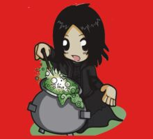 Snape cute Harry Potter by VirtualMan