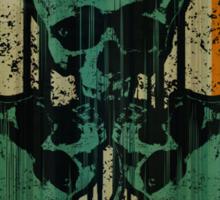 Skull Shamrock Sticker