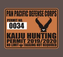Kaiju Hunting Permit by kingUgo