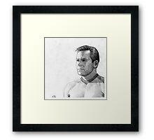 Captain James T. Kirk Framed Print